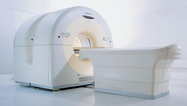 Сканер, применяемый для позитронно-эмиссионной томографии в ОАО Медицина
